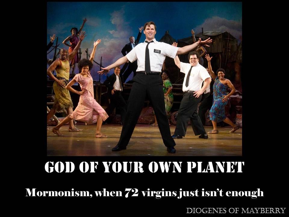 Mormon gods