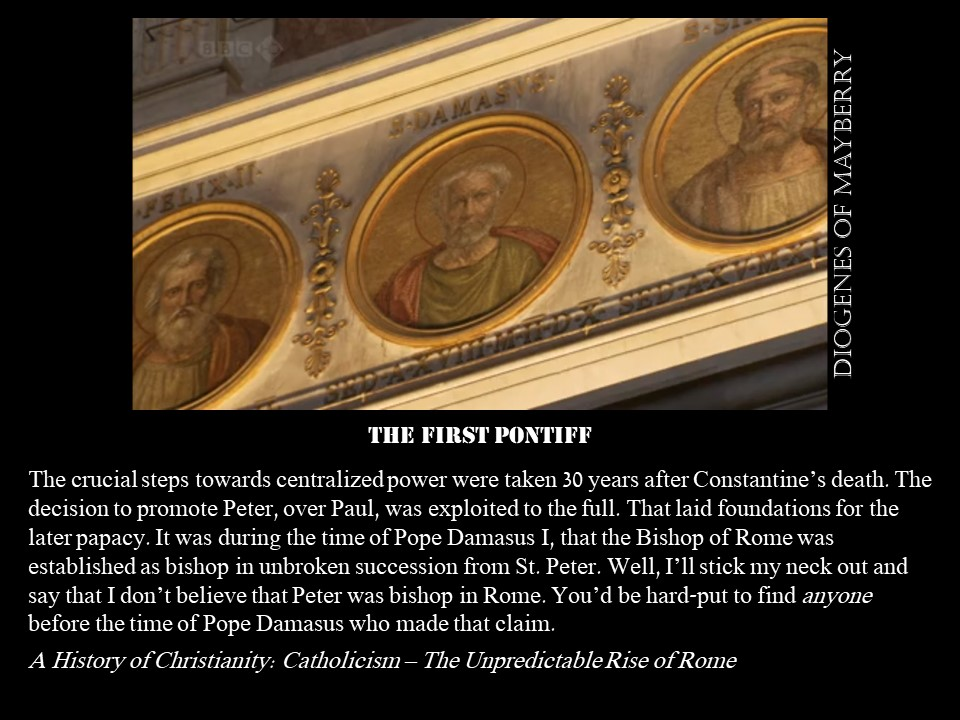 First Pontiff