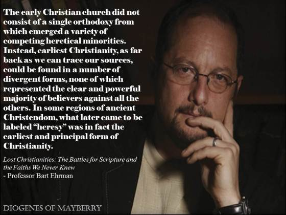 Ehrman - Lost Christianities