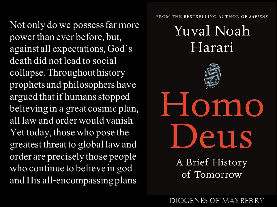 Harari - Humanism